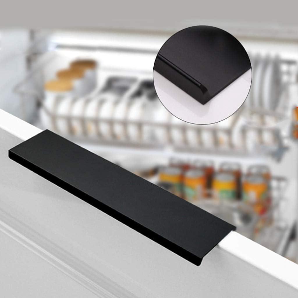 Xineker Alliage Daluminium Porte Pull Armoires De Cuisine Armoire Bouton Armoire Poign/ée Mat/ériel 80mm 120mm 150mm 200mm 300mm 400mm 600mm