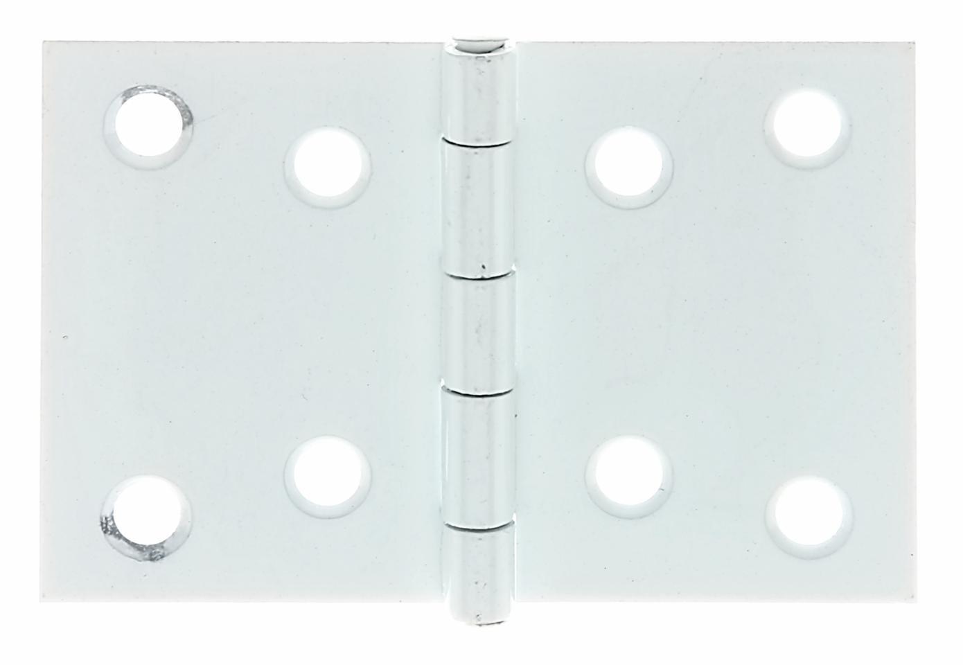 breit mit Edelstahlstift Edelstahl 60 x 90 mm // 1 St/ück GAH-Alberts 361280 Scharnier