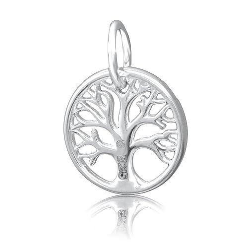 12448d943800 ANDANTE 925 plata de ley Cadena Colgante - Diseño vida algodón - Árbol de  la Vida - Tree of Life - 14 x 18 mm  Amazon.es  Joyería