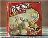 BANQUET CHICKEN POT PIE 7 OZ PACK OF 4