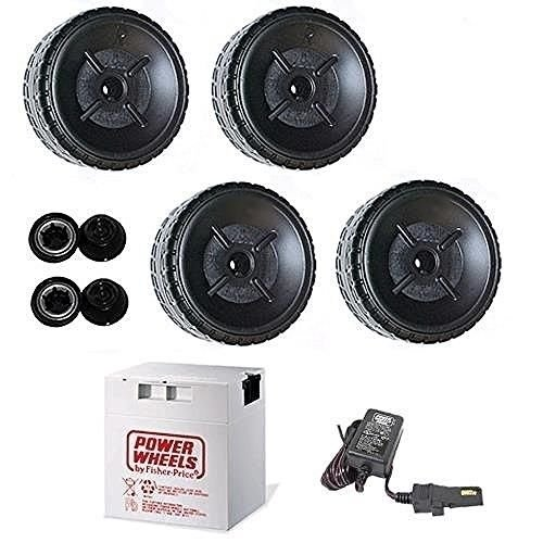 Power Wheels P6827 Girls Ford Mustang 4 Wheels, Battery & Charger Rebuild Kit