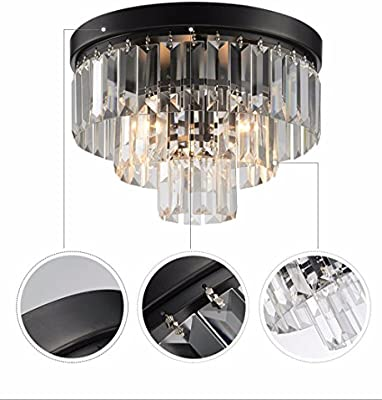 Deckenleuchte Lampe Beleuchtung Deckenlampe Kristall Deckenbeleuchtung Leuchte