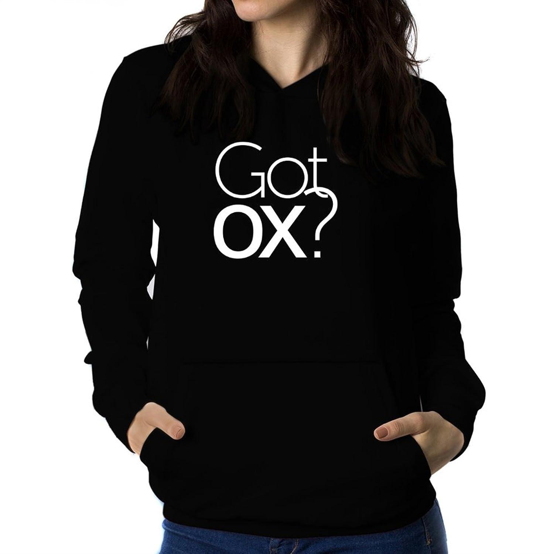 envío gratis Sudadera con capucha de mujer Got Ox? diaz