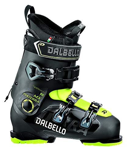 Dalbello Panterra MX 90 Ski Boots - 25.5/Black-Acid Yellow