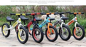 RR-Bike Baby Balance Bikes Bicicleta Niños Caminante 2-6 Años De Edad Juguetes, Sin Pedales, Bebé 2 Ruedas Niño Primer Regalo De Cumpleaños,Yellow: Amazon.es: Hogar