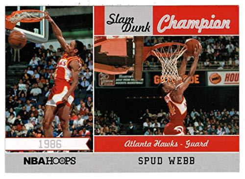 Webb Dunk Spud - Spud Webb (Basketball Card) 2011-12 Panini Hoops Slam Dunk Champion # 3 Mint