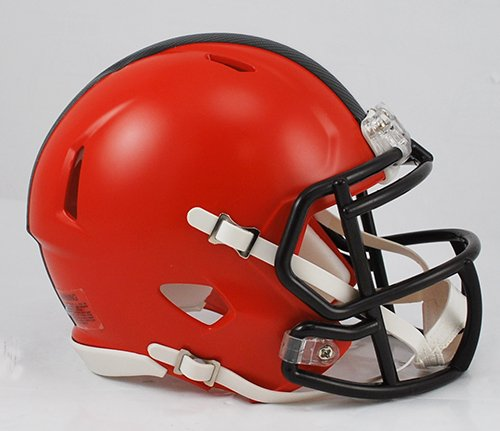 picture of NFL Cleveland Browns Replica Revolution SPEED Mini Helmet (New 2015 Logo)