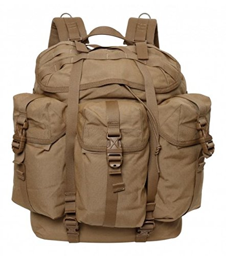 SpecOps SO100200211 Recon Ruck Ultra Backpack, Coyote Brown (Alice Ruck Frame)