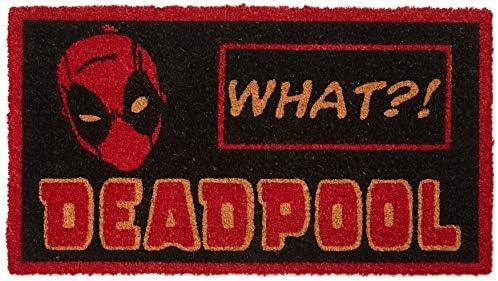 Pyramid America Deadpool Doormat, Multi