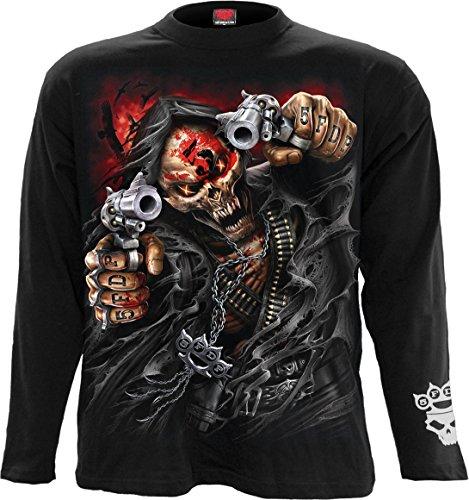 Spiral - Mens - 5FDP - Assassin - Licensed Band Long Sleeve Black - XXL