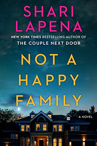 Book Cover: Not a Happy Family: A Novel