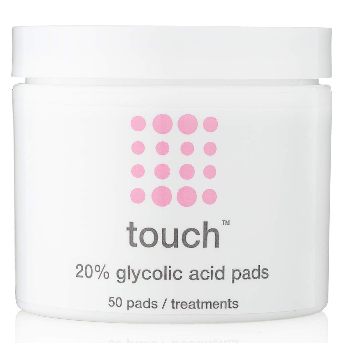 20% Glycolic Acid Pads Exfoliating And Resurfacing AHA Peel Face Wipes - Great for Anti-Aging, Dullness, Pores, Acne Scars, Fine Wrinkles, Uneven Skin Tone & Texture, Hyperpigmentation, 50 Count