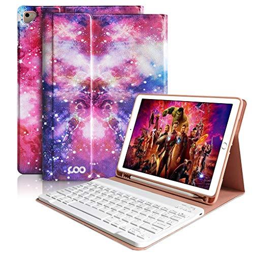 iPad Keyboard Case 9.7 for New iPad 2018 6th Gen, iPad Pro 9.7
