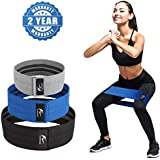 Resistance Bands,Loop Exercise Bands Hip Resistance Bands Booty Bands for Legs And Butt,Resistance Bands Soft & Non Slip, Wide Loop Hip Band, Fabric Band Hip Circle,Thick Workout Bands Set of 3
