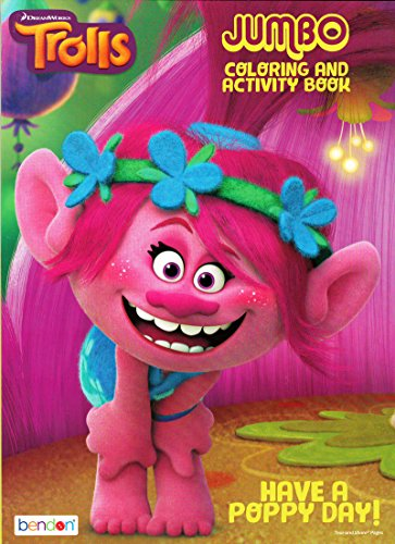 Dreamworks Trolls Poppy Coloring Activity