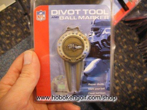 Baltimore Ravens NFL Divot Tool/Ball Marker (Mcarthur Nfl Tool Divot)