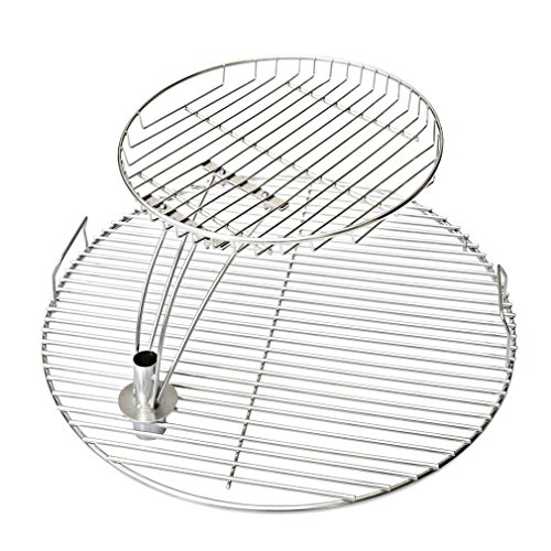 - Onlyfire 21.5'' Universal Stainless Steel Cooking Grate Grid Combo Fits for Most 22 Inch Charcoal Kettle Grills