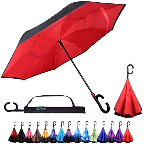Auto Reverse Folding Umbrella Carrying