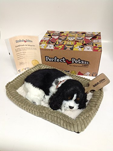 Perfect Petzzz Huggable Breathing Puppy Dog Pet Bed Cocker Spaniel -