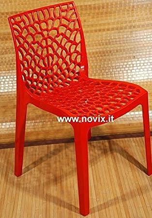 Chaise de cuisine rouge chaise de salle manger en bois for Liquidation chaise cuisine
