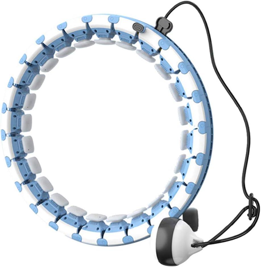 Smart Hula Hoop Reifen Einstellbar Massagenoppen Bauchtrainer Weihnachtsgeschenk