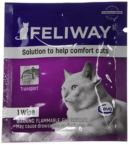 Feliway Animal Health C95660B 12 Count Feliway Wipes, All Sizes