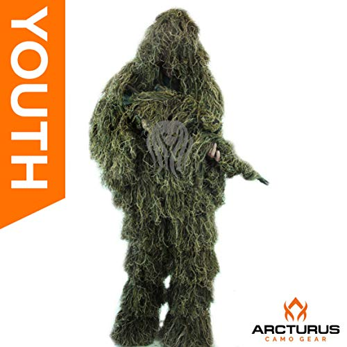Arcturus Ghost Youth Ghillie Suit | Dense,
