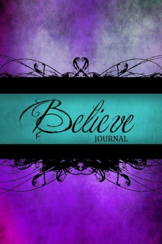 Believe Journal Notebook Diary Blank product image