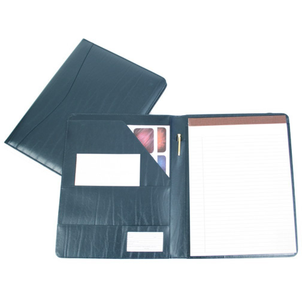 Amazon Com Royce Leather Padfolio Blue Apparel Office Products