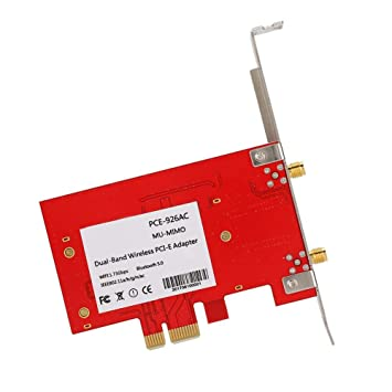 Wendry Tarjeta de Red, para Intel 9260AC Dual-Band WiFi 2.4 ...
