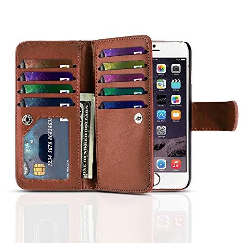 TNP iPhone Wallet Brown Built