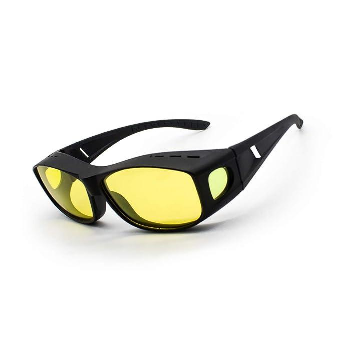 c8635900f6 Amazon.com  SUENANCY Anti Glare Night Vision HD Driving Glasses-Men ...