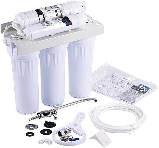 Mumusuki Filtro purificador de Agua de 5 etapas Osmosis inversa ...