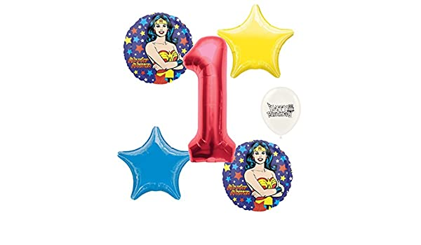 """Number 1 Red 40/"""" Megaloon Balloon Birthday Party Decorations 1st Birthday"""