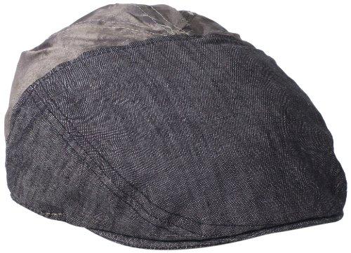 Levi's Men's 2 Toned Round Back Ivy Hat, Black, One Size