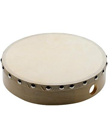 Musik & Instrumente Tamburin für Kinder NEU 3 Schellen Holzgriff Schellenkranz aus Holz Tambourin