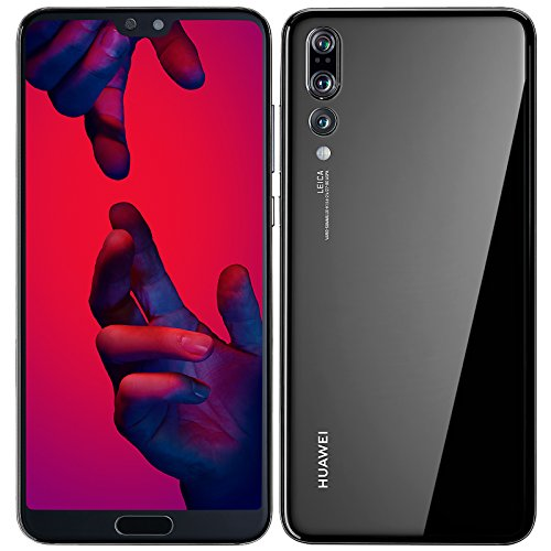Huawei P20 Pro 128GB Single-SIM Factory Unlocked 4G/LTE Smartphone (Black) - International Version