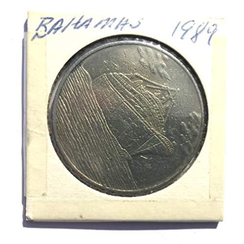 1989 BS Bahamas Cruise Casino, Bahamas One Dollar ($1) Gaming Token (Obsolete Design) $1 Used