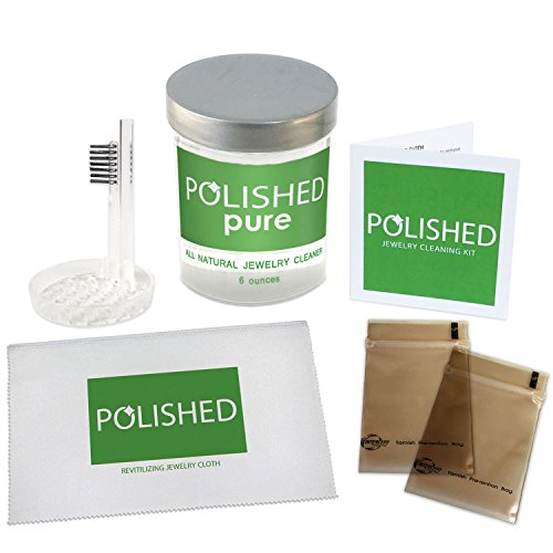 Polished Jewelry Cleaning Kit, All-Natural Jewelry Cleane...