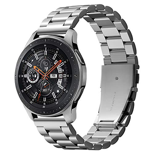Spigen Modern Fit Designed for Samsung Galaxy Watch 46mm Band (2018) Smartwatch Band - Silver