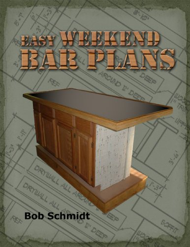 Easy Weekend Bar Plans: Build a bar in a weekend for <$500 (Furnishings Homemade)