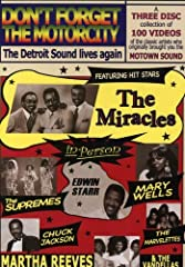 This incredible three-disc collection features 100 videos from the 70s - 90s of former classic artists of Motown! Its priceless footage captures the magic of a long gone era - music to make your feet tap, your hair tingle, and your fingers sn...