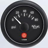 VDO A2C53412998-K2 Oil Pressure Gauge Kit