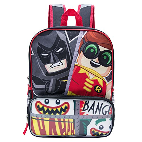 DC Comics Lego Batman Boys' Large Cordura Backpack, Multicolor]()