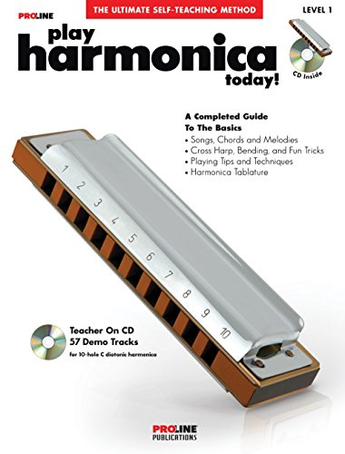 (Proline Play Harmonica Today! Method Book with CD & DVD)