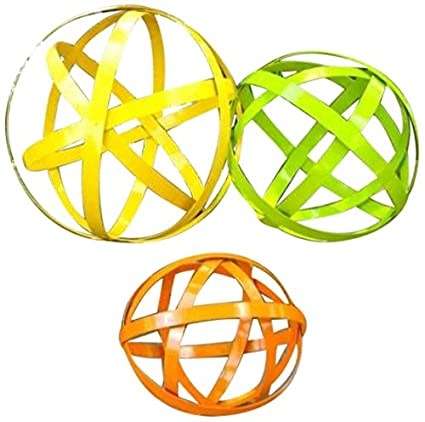 Color Garden Balls, Set Of 3