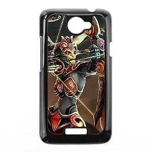 HTC One X Black phone case Medusa Dota 2 DOT5259513