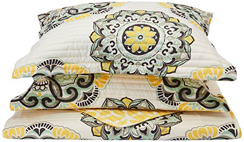 quilt set queen yellow - 5