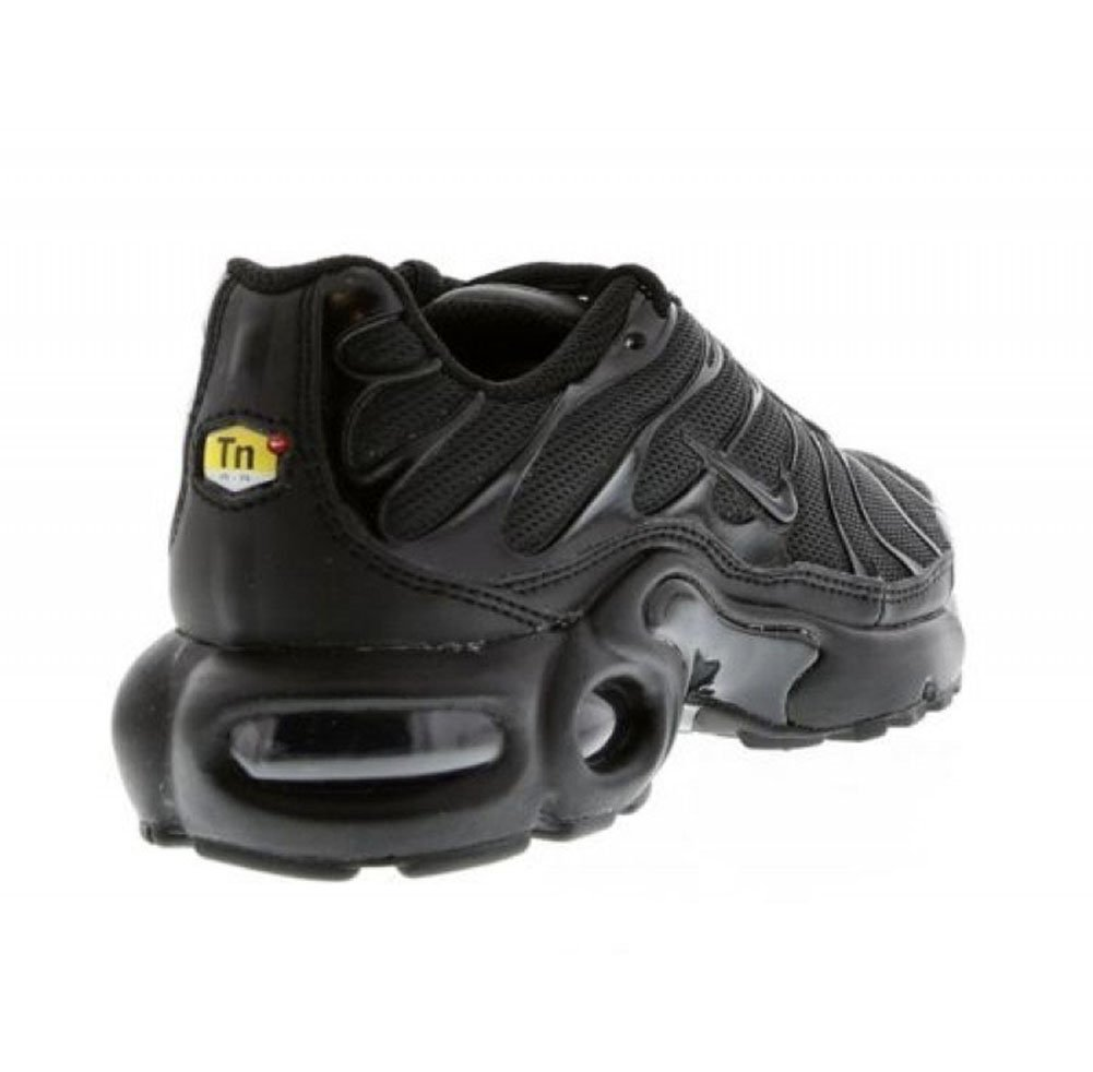 Nike Air Max Plus (gs) Big Kids 655020 009 Size 3.5 BlackBlack Black