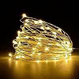 Nightlight,YJYDADA 2 Pcs Led String Lights Decorative Bedroom Garden Yard Parties Wedding (Yellow)
